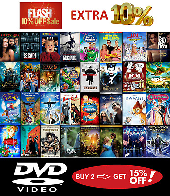 DVD Movies USA Discs - Some w/ Digital Copies - Updated Often - Buy 2 Save 15%!