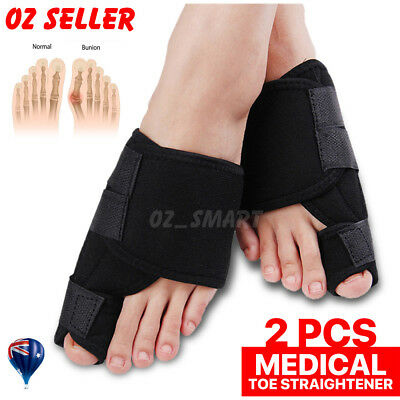 Unisex Big Bunion Straightener Toe Pain Relief Orthotics Hallux Valgus Corrector