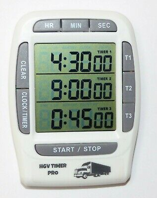 Driver Timer HGV driver timer Rest Period Tacho break Driving Hours Timer Truck