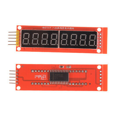 MAX7219 Red Module 8-Digit LED Display 7 Segment Digital Tube For Arduino Hg