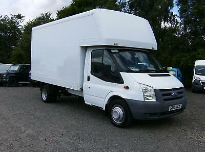 FORD TRANSIT 350 DRW 2.4  LUTON VAN White Manual Diesel, 2010