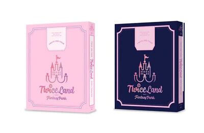 TWICE [TWICELAND ZONE 2:FANTASY PARK] DVD & BLURAY All Package+GIFT K-POP SEALED