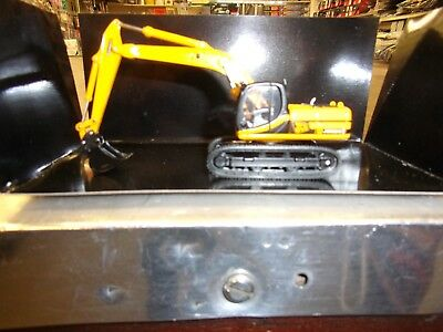 JCB JS220LC Tracked Backhoe Excavator 1//87th Scale Yellow//Black Tracked 48 Post