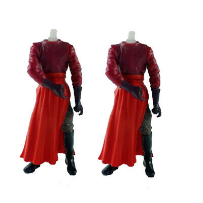 """lot of 2pcs 3.75""""  Star Wars ATTACK of the CLONES ROYAL GUARD Body only"""