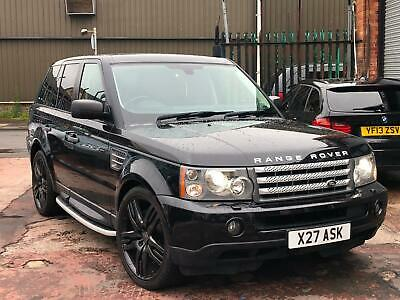 2007 57 Range Rover Sport 3.6 Tdv8 Hse Black Overfinch Alloys Fsh Top Spec