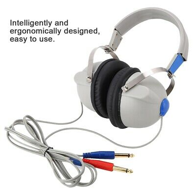 Hearing Screening Headphone Air Conduction Audiometer for Hearing Test 3dB