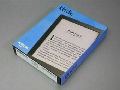 Never Used Genuine Amazon Kindle Touch 8th Gen Wi-Fi 6 inch Black eReader 4GB