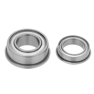 10pcs 10*19*7mm 10*15*4mm Double-side Sealed Deep Groove Flange Ball Bearings C/