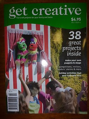 Get Creative Craft Magazine Volume 1 Issue 4 38 Projects - As New - Patterns