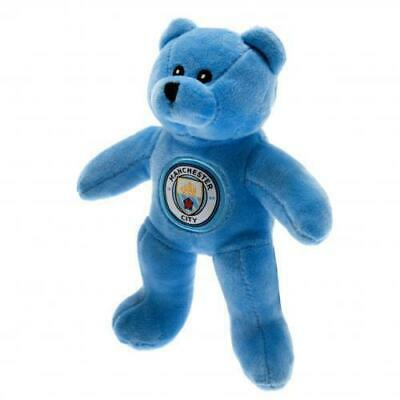 Manchester City FC /Man City Official Crested Mini Bear Plush Bear Soft To Touch