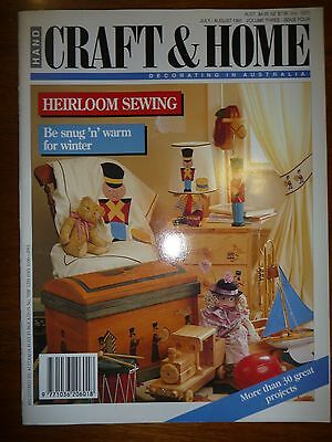 Hand Craft & Home Decorating Magazine - Volume 3 Issue 4 - Heirloom Sewing