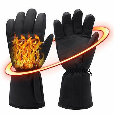 Woman Men Heated Gloves, Electric Heating Gloves Rechargeable Winter Hand Warmer