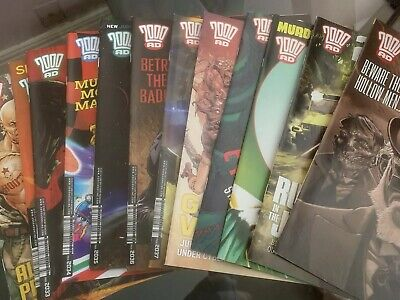2000ad progs 2031 To 2042 Complete with Judge Dredd