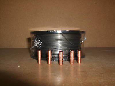 0.9mm x 0.45kg No Gas Gasless Flux Cored Mig Welding Wire & Contact Tips