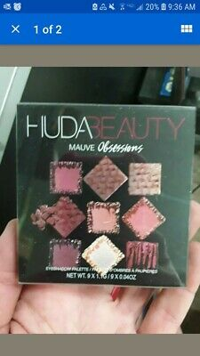 2018 Huda Beauty OBSESSIONS Eye shadow Palette MAUVE