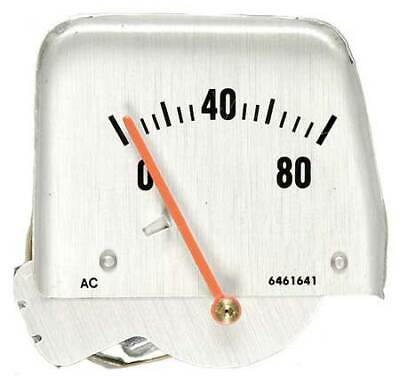 68-69 Camaro Console Silver Face Oil Gauge Assembly
