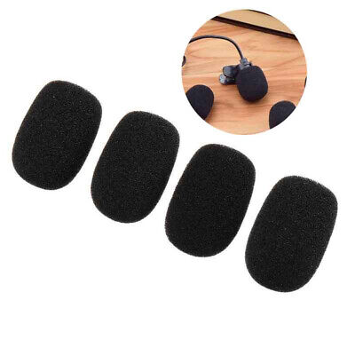 4x Pop Filter Foam Windscreen For Shure PGA31 SM35 WH20 PG30 Headset Microphone