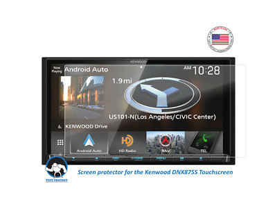 Clear Screen Protectors For Kenwood eXcelon DDX594 Tuff Protect 2pcs