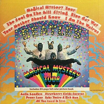 The Beatles - Magical Mystery Tour  SMAL-2835  Vinyl LP Album Stereo