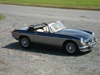 MGB Roadster in outstanding condition.