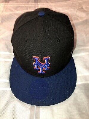 e683d7f4e NEW ERA NEW York Mets Fitted Hat (BLACK) SUBWAY World Series Patch ...
