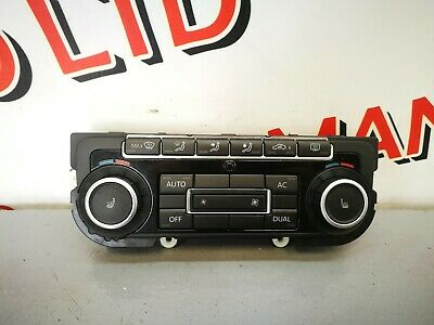 Vw Eos 2010 Climate Control Switch Panel 5K0907044Bt