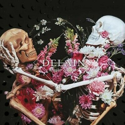 Hunter's Moon Explicit Version DELAIN CD + BLU RAY (LIVE SHOW NIGHTWISH MEMBERS