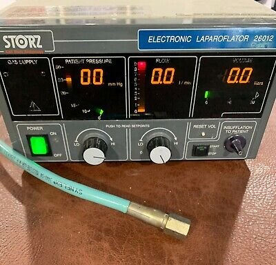 Storz Electronic Insufflator 26012 with Hose