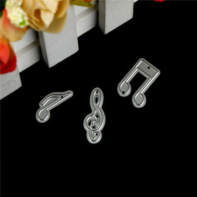 3pcs Note Design Metal Cutting Die For DIY Scrapbookings Albums Paper Cards  RR