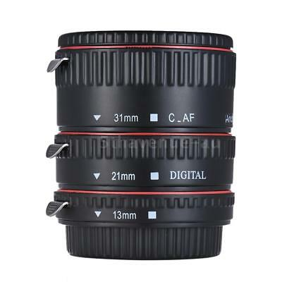 Pro Auto Focus Macro Extension Tube Ring Adapter for Canon Camera EF EFS... W6U3