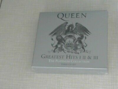 """QUEEN - """" THE PLATINUM COLLECTION - GREATEST HITS I, II und III"""" (3 CD-Box, OVP)"""