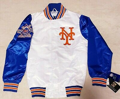 release info on 17a24 cdf1e NY METS STARTER Jacket Rare 3xl Sold Out Packer Shoes Giii ...