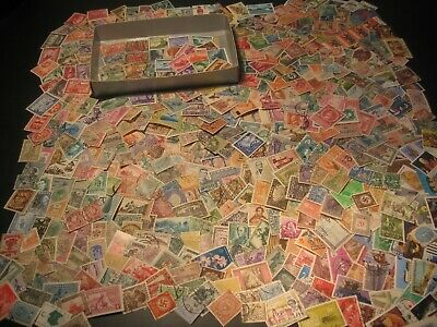 Stamps Collection Untouched For Years Kiloware Worldwide Stamps Old Lot 1
