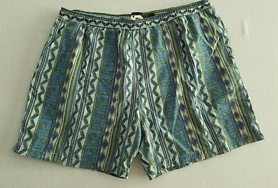 Vintage 1980s Lightning Bolt Surf Trunks Board Shorts Men's Large YW