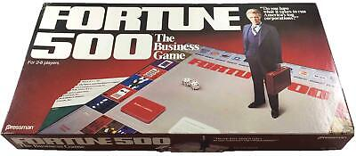 Pressman Boardgame Fortune 500 - The Business Game Box VG