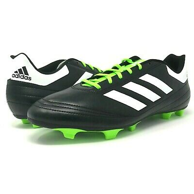 46270ad8d Adidas Goletto VI Firm Ground Mens Size 13.5 Black Green Soccer Cleats  BB4841