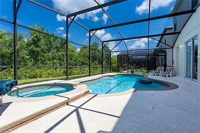 BigDisneyVilla 4 Bed Pool/spa Orlando Home/Disney Area sleeps 8 Golf close by