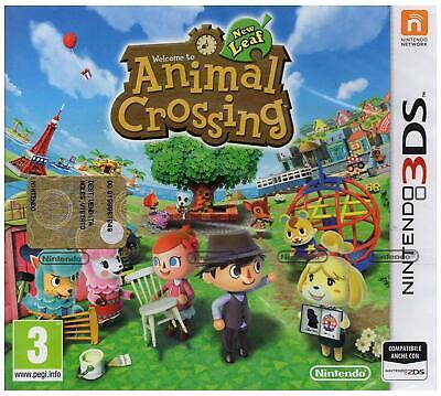 Animal Crossing: New Leaf (Nintendo 3DS Game) *VERY GOOD CONDITION*
