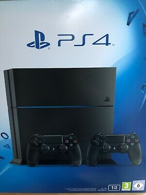 Sony PS 4 1TB ultimate player ed. (2 wireless controller) Jet Black TOP! in OVP