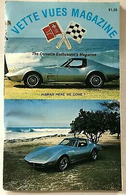 VETTE VUES MAGAZINE(VOL. 7,No.9,MAR. 1979)146 PAGES,HAWAII HERE WE COME !,BIN