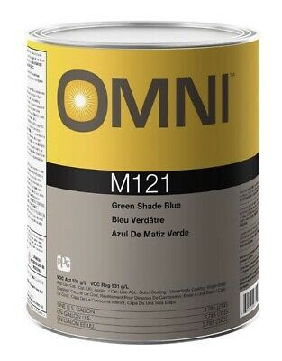 NEW PPG OMNI M122 Red Shade Blue Gallon Tint Toner Automotive Paint
