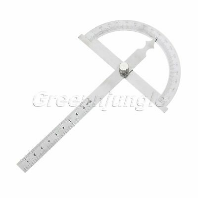 Hollow Scale 10cm Protractor Angle Finder Ruler Rotary Measuring Tool 180 Degree