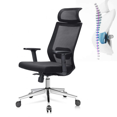 Ej. Life Ergonomic Office Chair High Back Mesh Desk with Adjustable Seat Height,