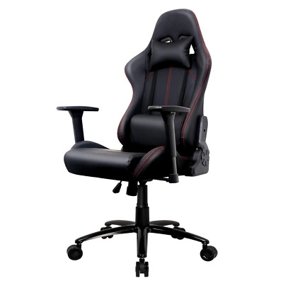 Amoiu Racing Gaming Chair with 3D Adjustable Armrests, Hight Back Ergonomic Buck
