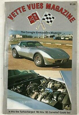 VETTE VUES MAGAZINE(VOL. 7,No.12,.JUNE 1979)162 PAGES,TURBO 1980 THRU 1983 MAYBE