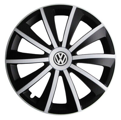 4x14'' Wheel trims fit VW Volkswagen Polo Golf Fox Lupo - 14'' brand new white