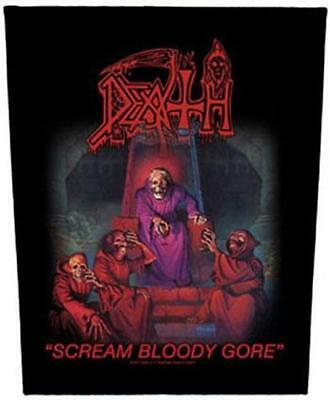 Official Licensed - Death - Scream Bloody Gore Back Patch Metal