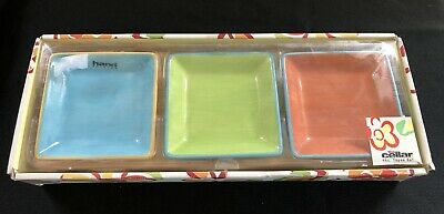 The Cellar 4 Piece Dips/Relish Serving Dish. New