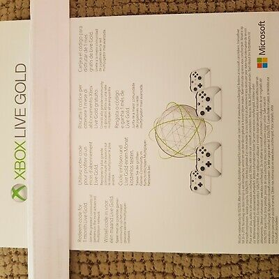 Xbox Live Gold 1 MES/1 Month