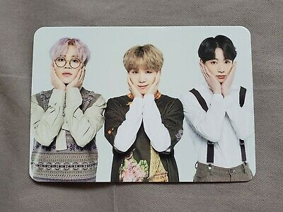 BTS 5th Muster Magic Shop MD Photocard Group Unit SUGA Jimin Jungkook 1 out of 4
